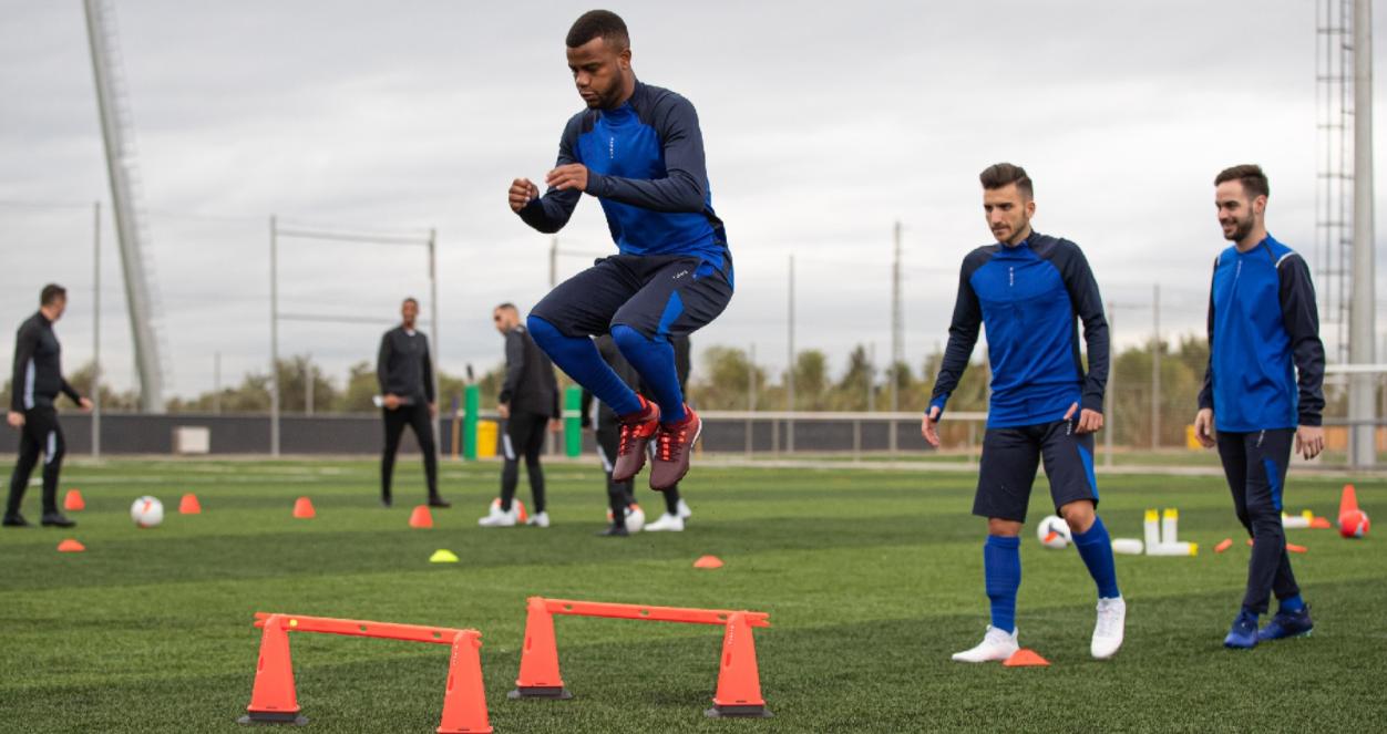 latihan fisik pemain sepak bola eropa